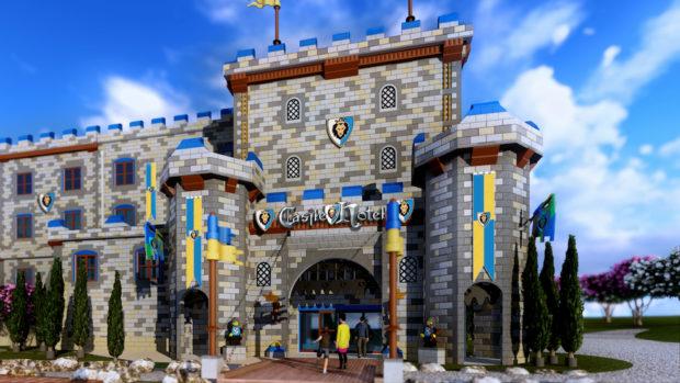 legoland california castle hotel exterior