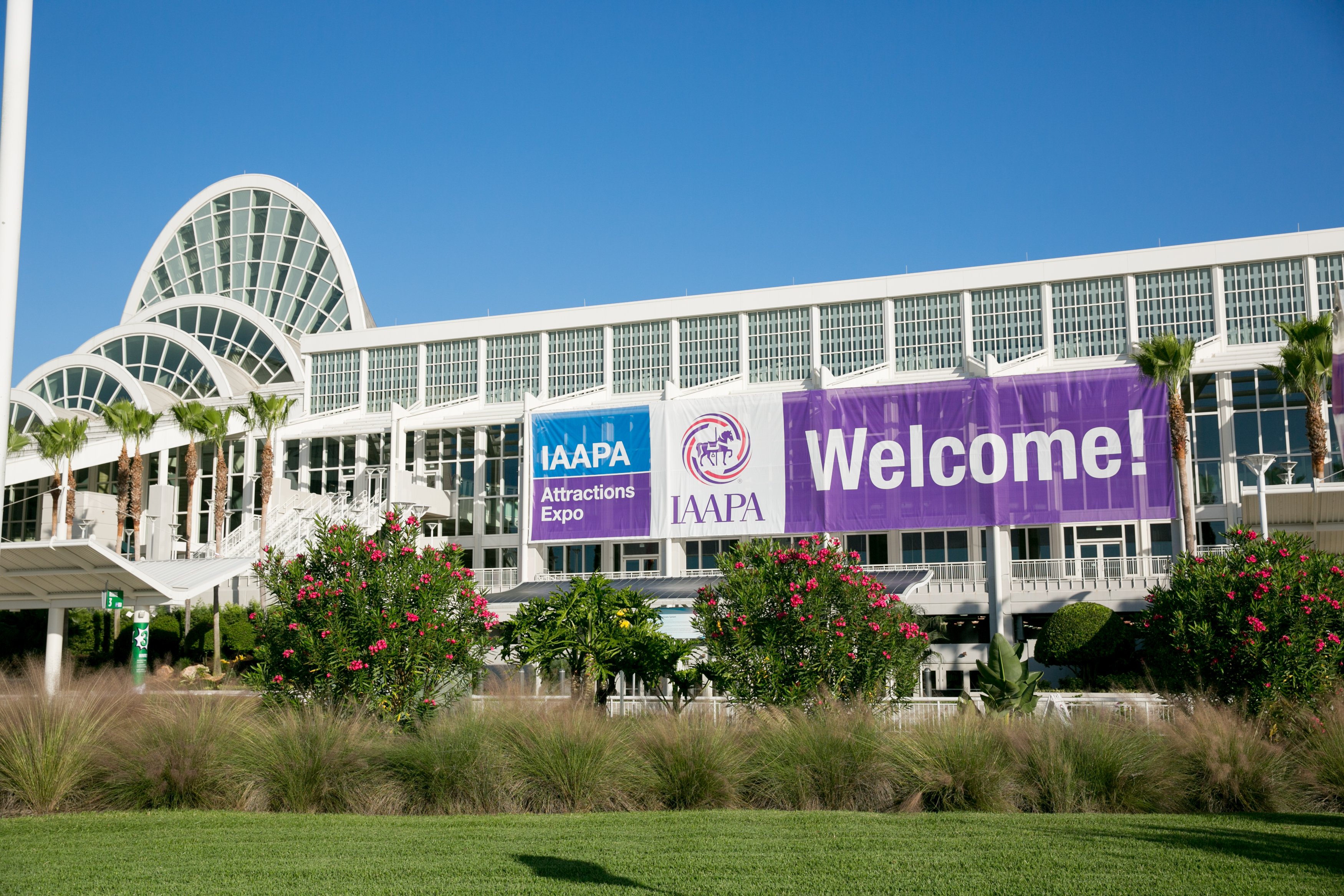 Iaapa attractions expo - 2013, орландо (флорида), сша