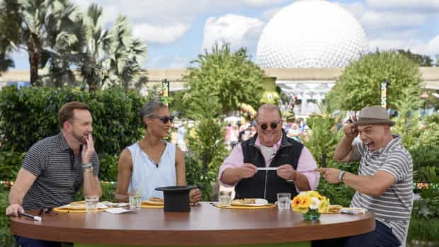 ABC The Chew Epcot Food Wine Festival