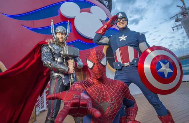 Marvel Day at Sea Disney Magic