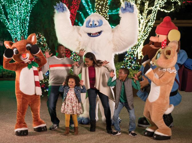 Rudolph Christmas Town,Busch Gardens Tampa