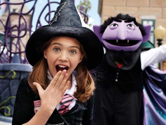 Sesame Street Halloween Busch Gardens Tampa