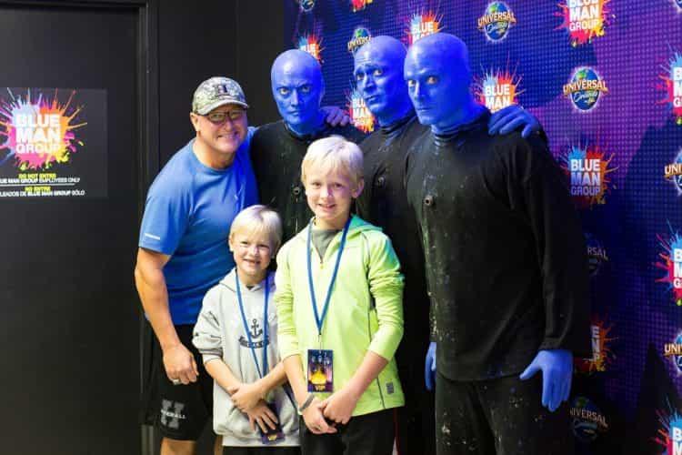 Blue Man Group VIP
