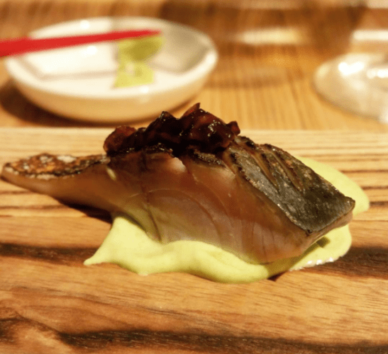 boston-saba-mackerel-over-edamame-puree