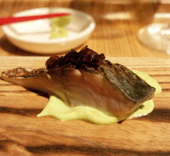 boston-saba-mackerel-over-edamame-puree