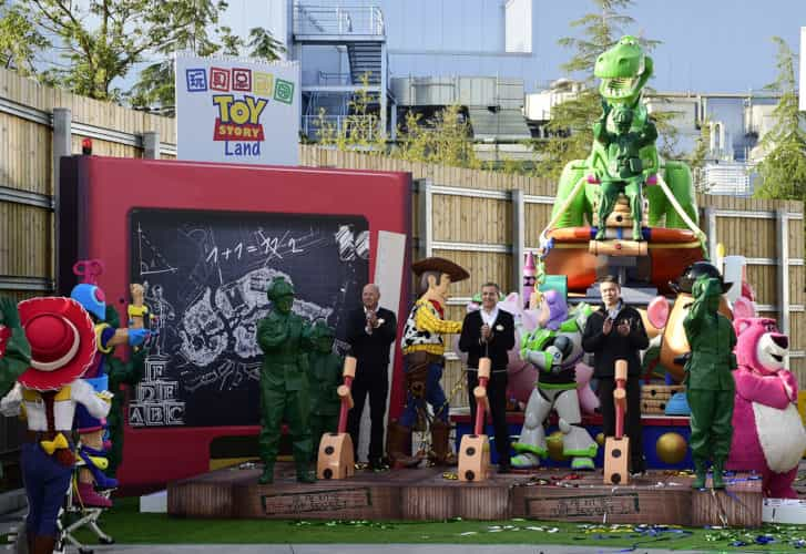 Shanghai Disneyland Toy Story Land