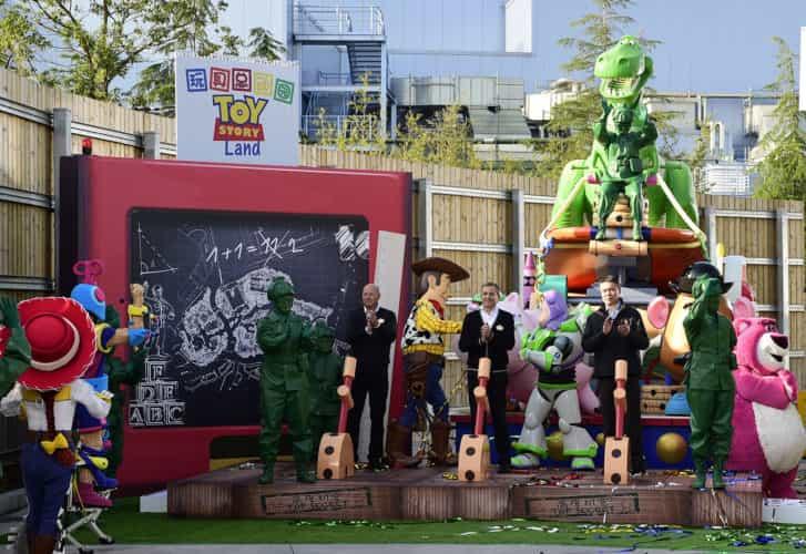 Shanghai Disneyland Toy Story Land