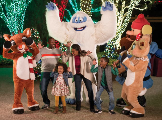 Rudolph SeaWorld Orlando Christmas