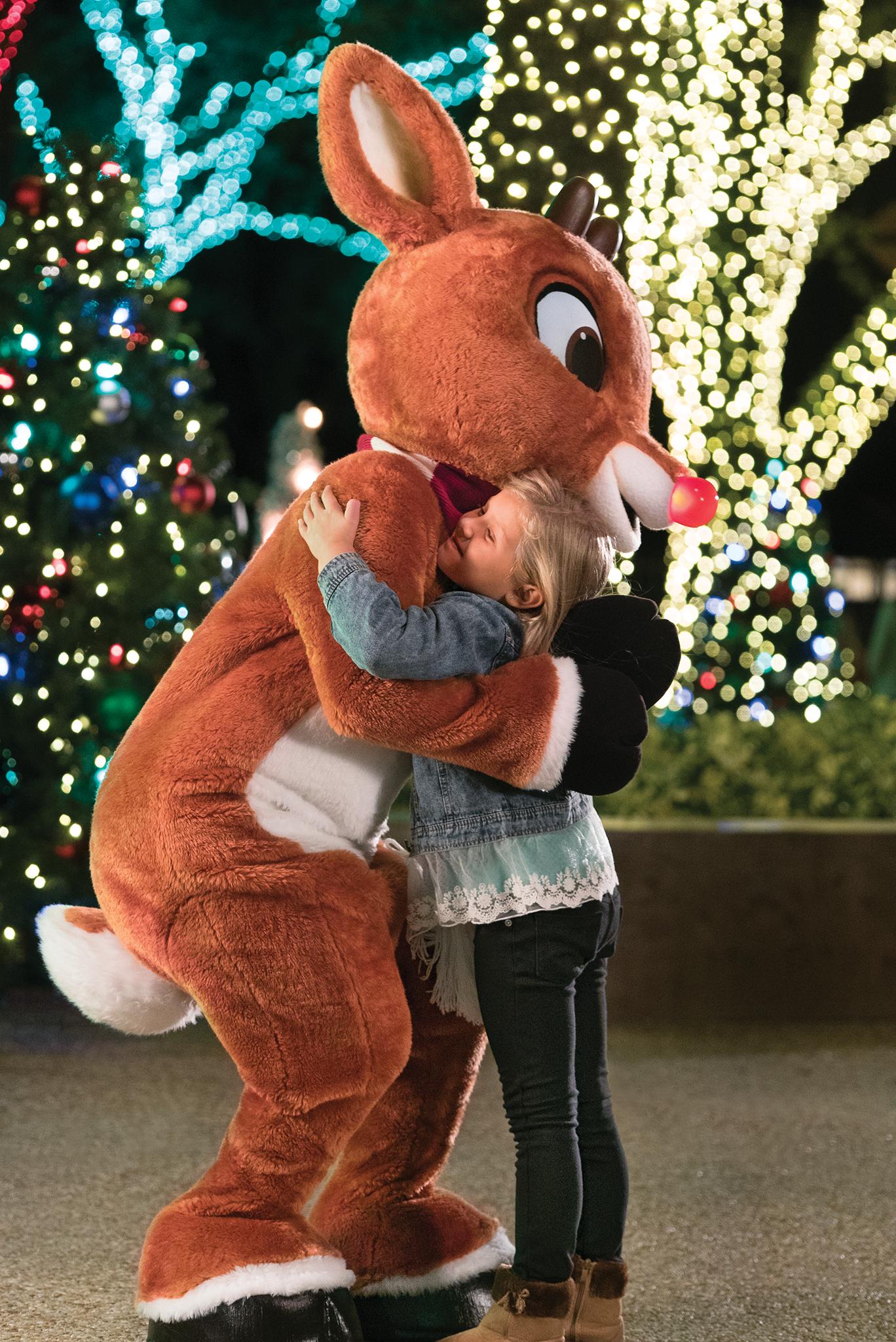 meet rudolph the rednosed reindeer at seaworld orlando's