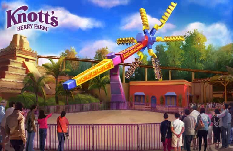 Knott's Berry Farm Sol Spin