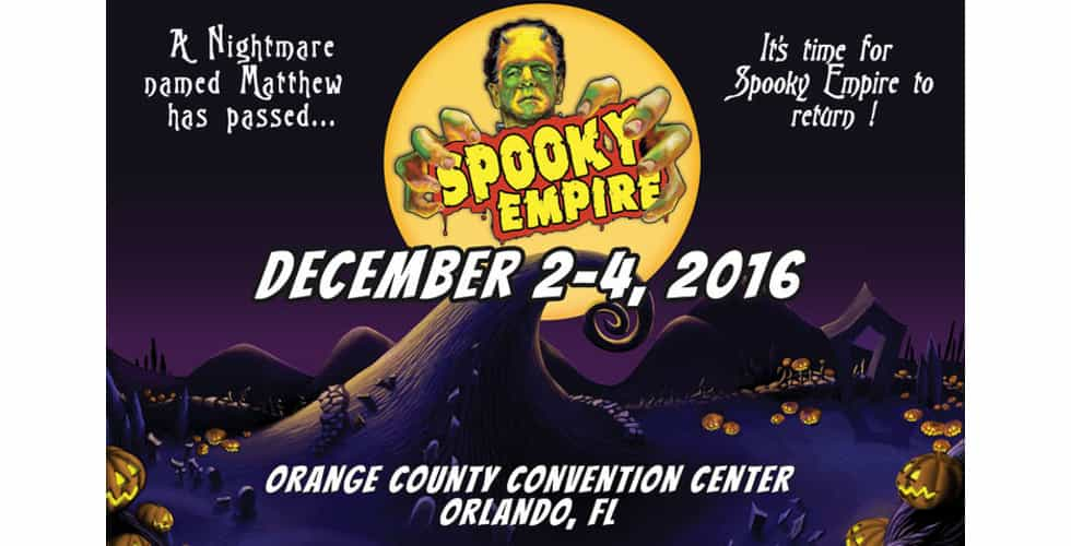 Spooky Empire rescheduled Hurricane Matthew