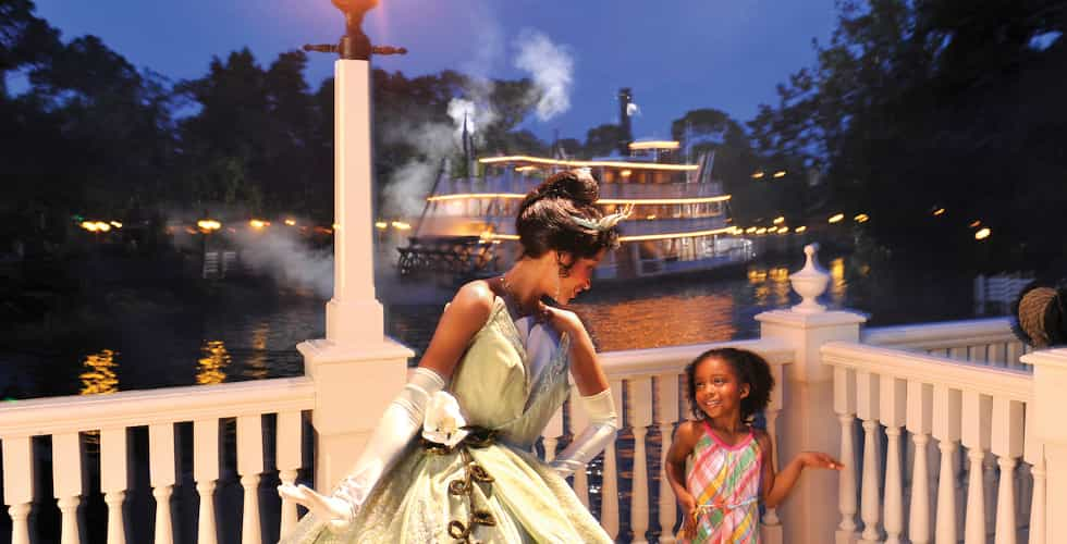 Tiana's Riverboat Party
