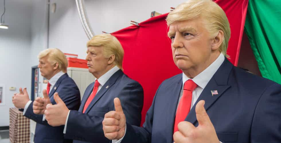 Ripley's Donald Trump wax figure