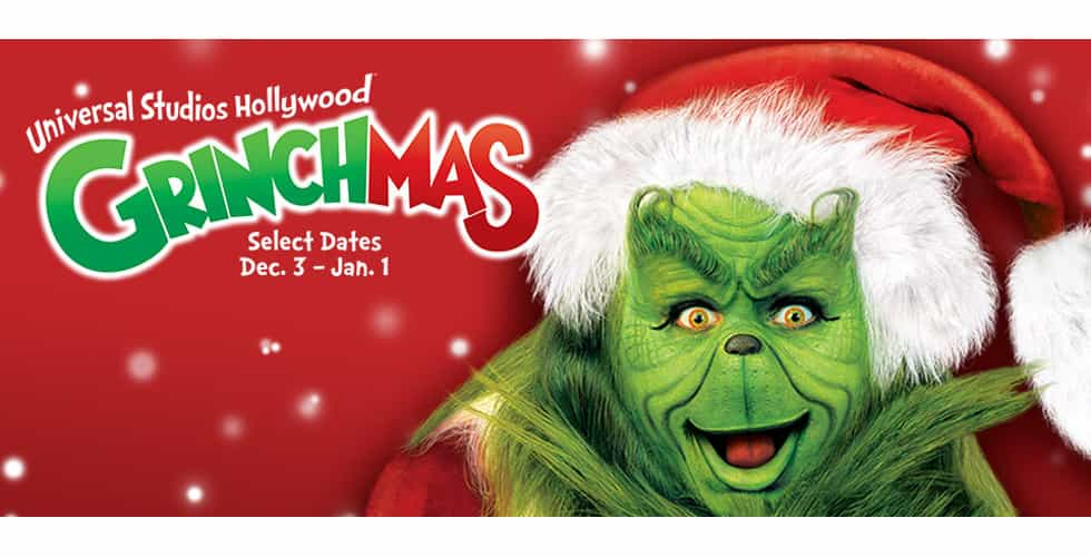 Grinchmas Universal Studios Hollywood