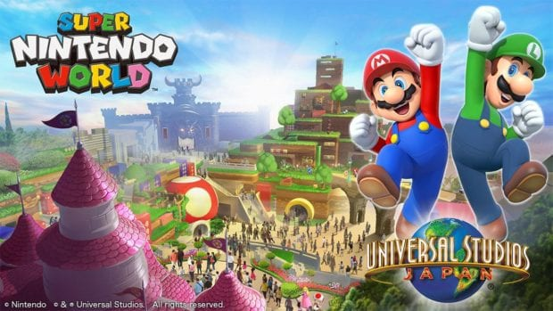Super Nintendo World concept art