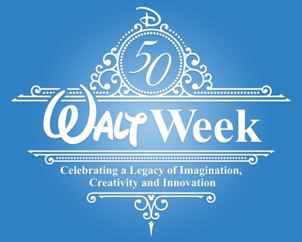d23 disney walt week logo