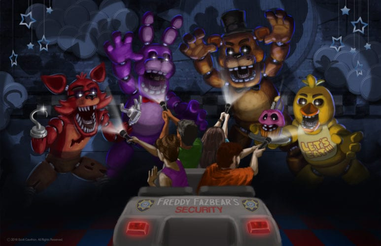 Sally Corp Five Nights at Freddy's