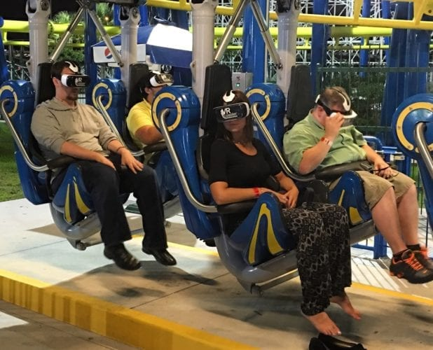 Freedom Flyer VR Coaster