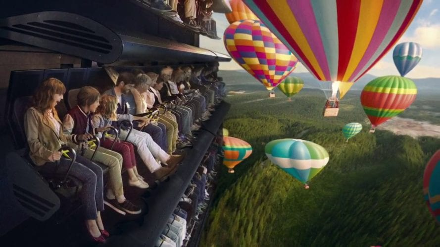 Dynamic Attractions Flying Theatre
