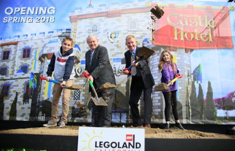 Legoland Castle Hotel groundbreaking