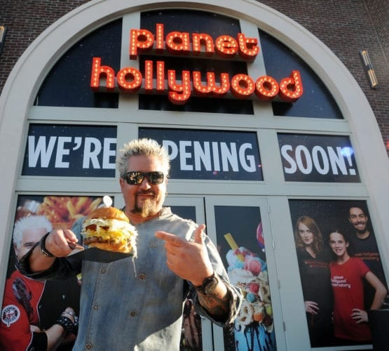 Celebrity Chef Guy Fieri Signs Off On His New Out Of This World Burger And Sandwich Menu At Planet Hollywood Observatory In Disney Springs