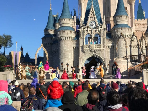 magic kingdom welcome show 2017