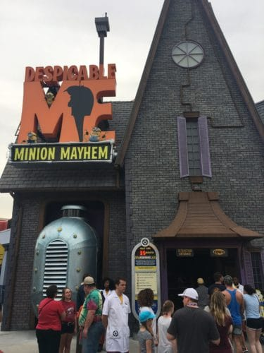 Despicable Me Minion Mayhem virutal queue