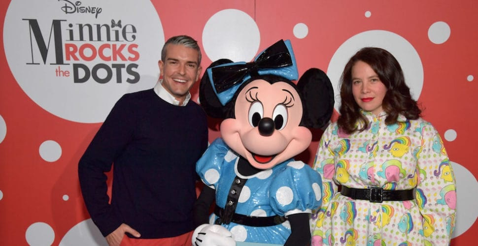 Minnie Mouse rocking the dots