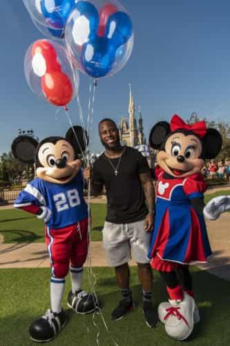 Super Bowl James White Goes to Disney World
