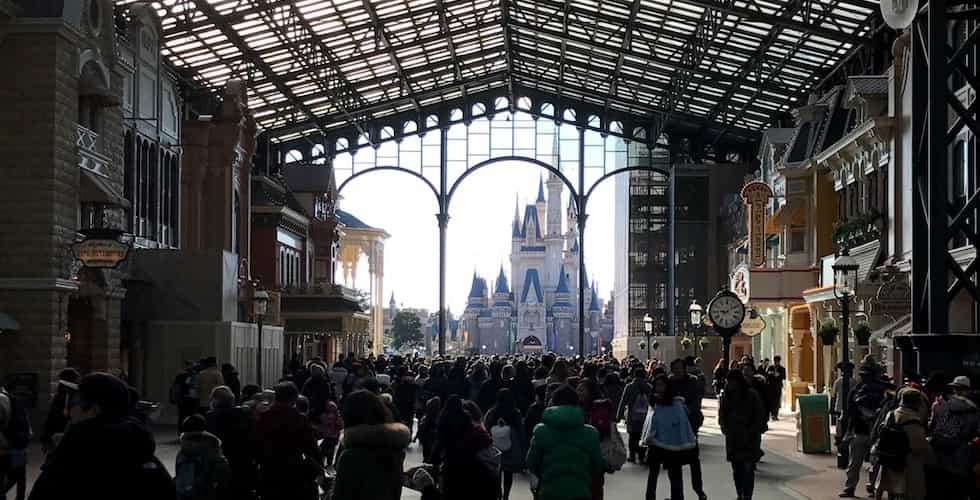 Who owns the Disney parks around the world