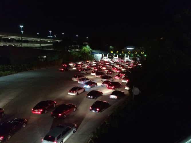 Universal Orlando parking