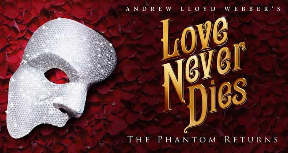 Love Never Dies Logo