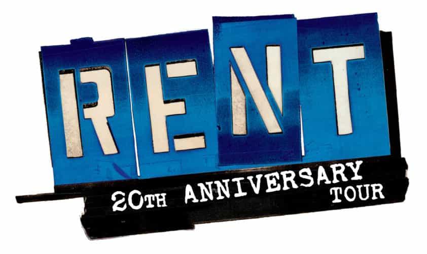 Rent 20th Anniversary Tour Logo