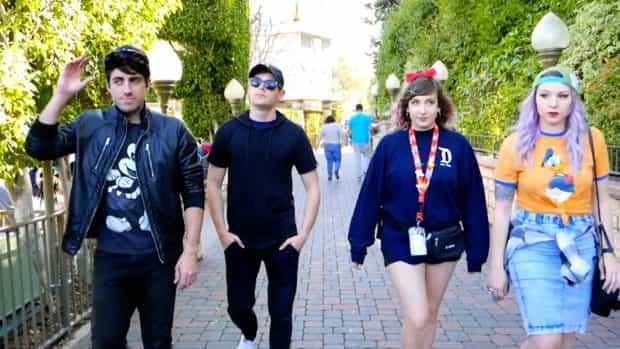 Thingamavlogs Disneyland AP music video