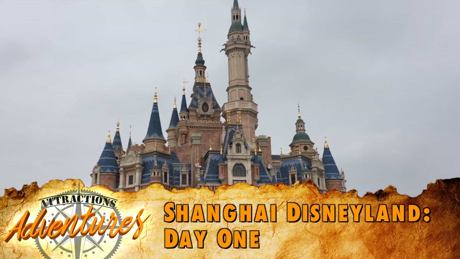 Attractions Adventures Shanghai Disneyland Day One