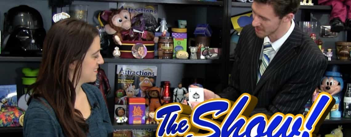 Attractions – The Show – Seven Seas Food Festival; magician interview; news – Feb. 23, 2017