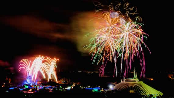 'Celebration at the Top' fireworks parties can get you to the California Grill viewing deck starting February 26.