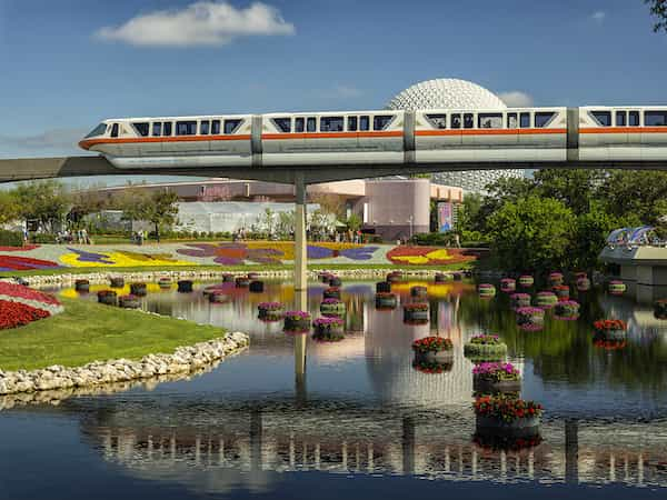flower & garden monorail