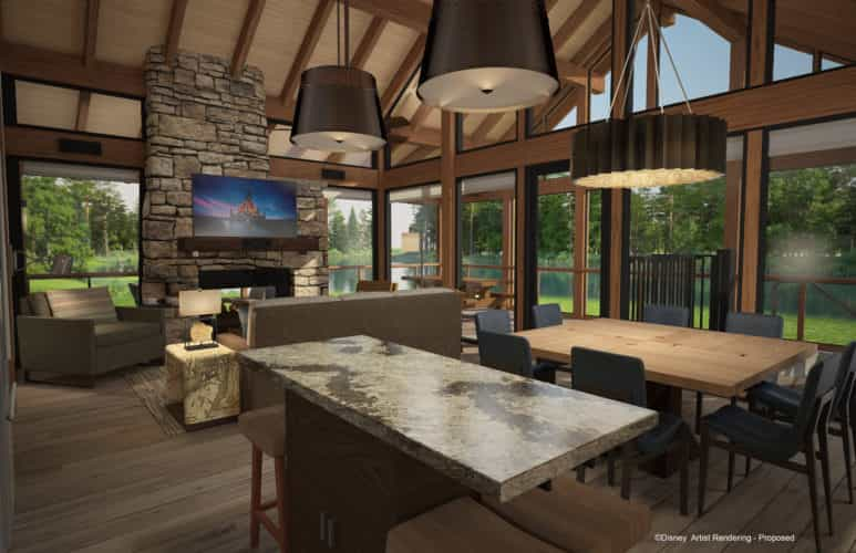 Disney vacation club starts sales of copper creek villas for Villas wilderness lodge