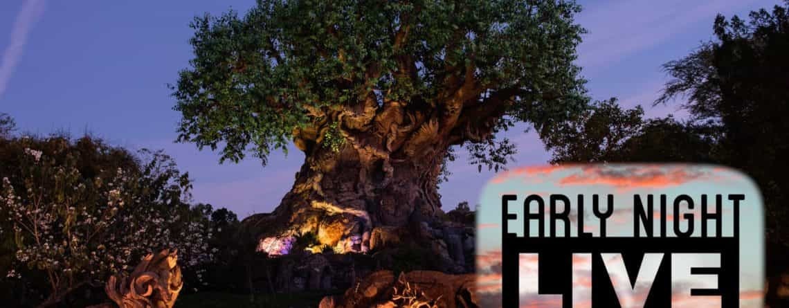 Join us for 'Early Night Live' at Disney's Animal Kingdom