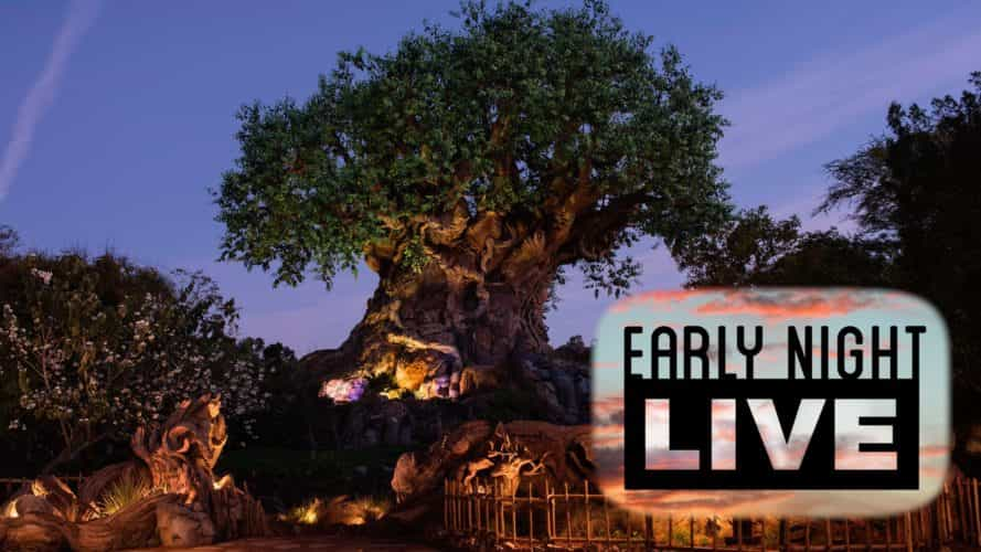 early night live disney's animal kingdom