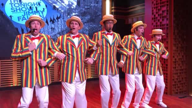 race through new york starring jimmy fallon universal orlando ragtime gals