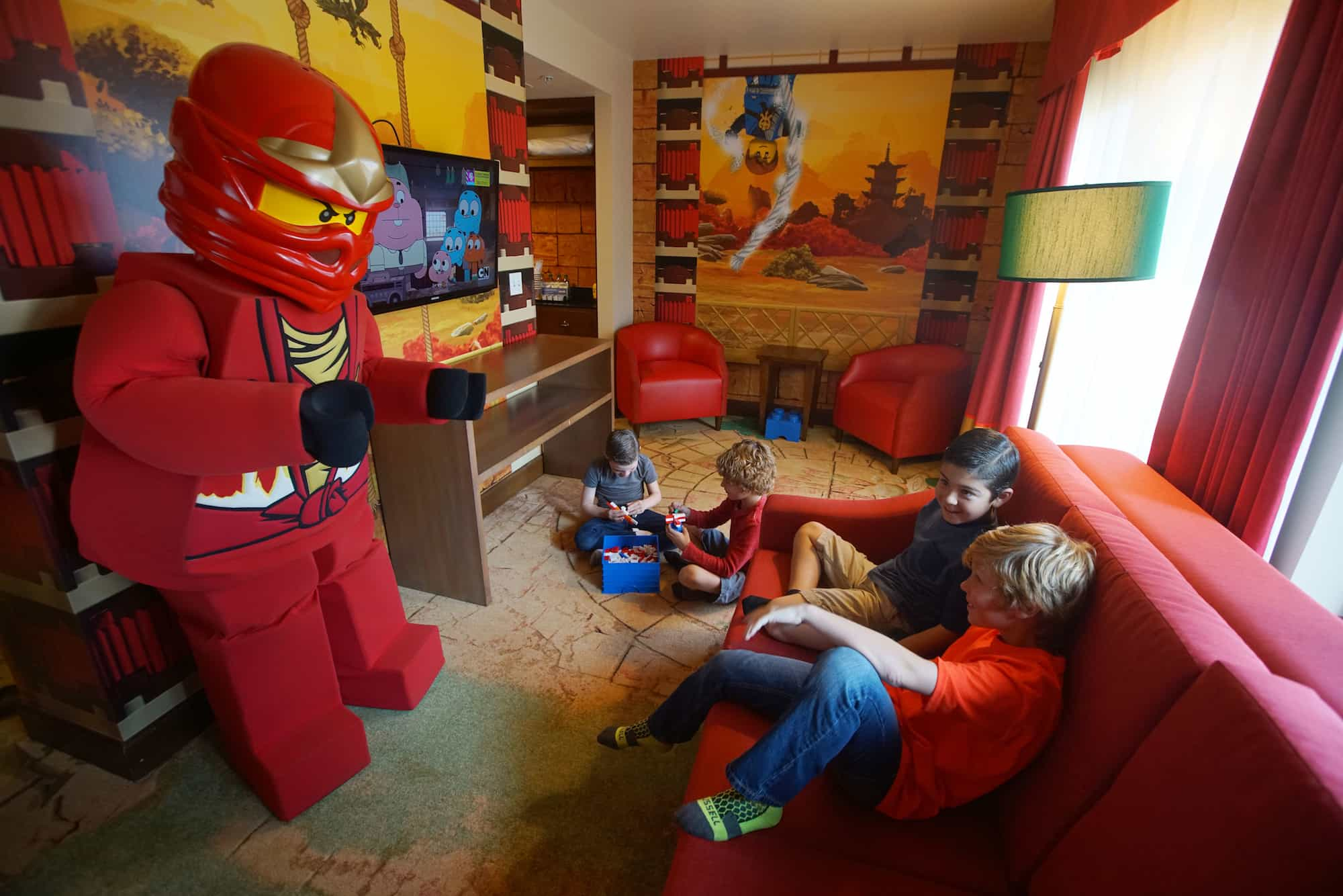 Legoland California Debuts Lego Ninjago Rooms Inside