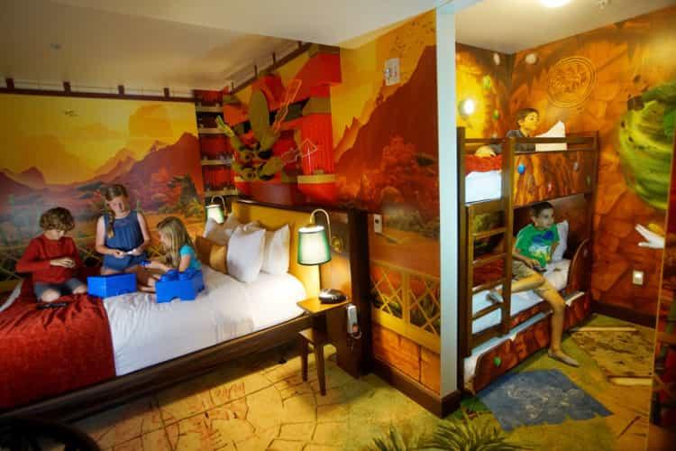 lego ninjago room legoland hotel california
