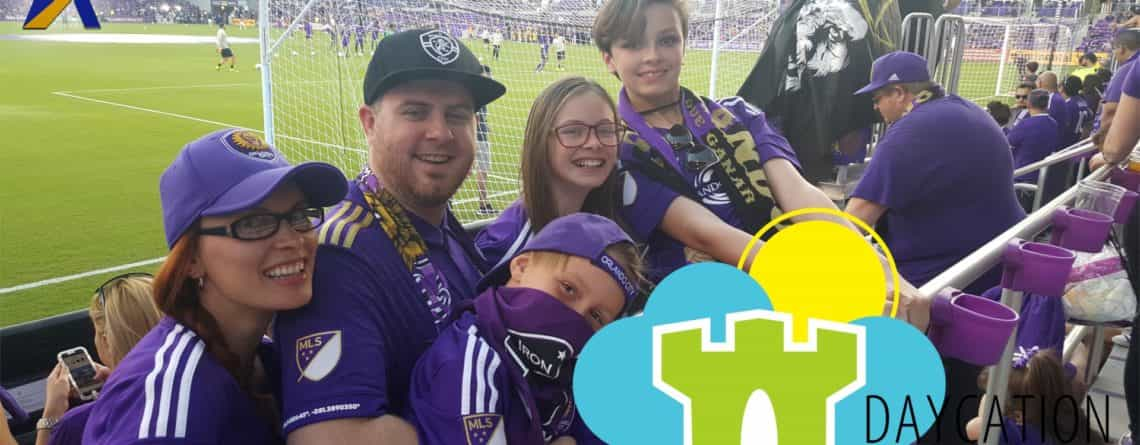 Daycation Kingdom – 'Surprise Orlando City Soccer Game' – Episode 81 – March 27, 2017