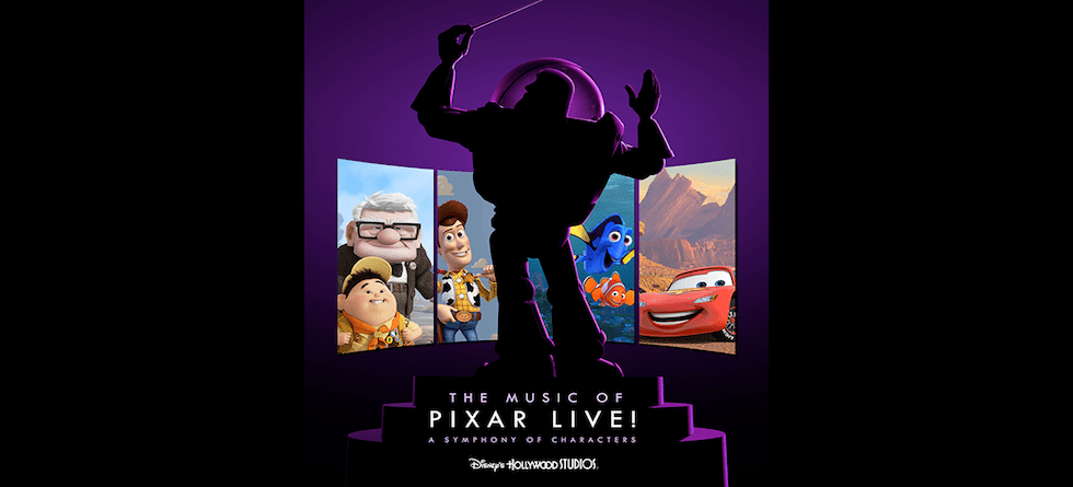 'The Music of Pixar Live!' to debut at Disney's Hollywood Studios this summer