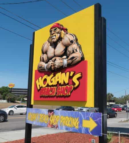 permanent Hulk Hogan's Beach Shop