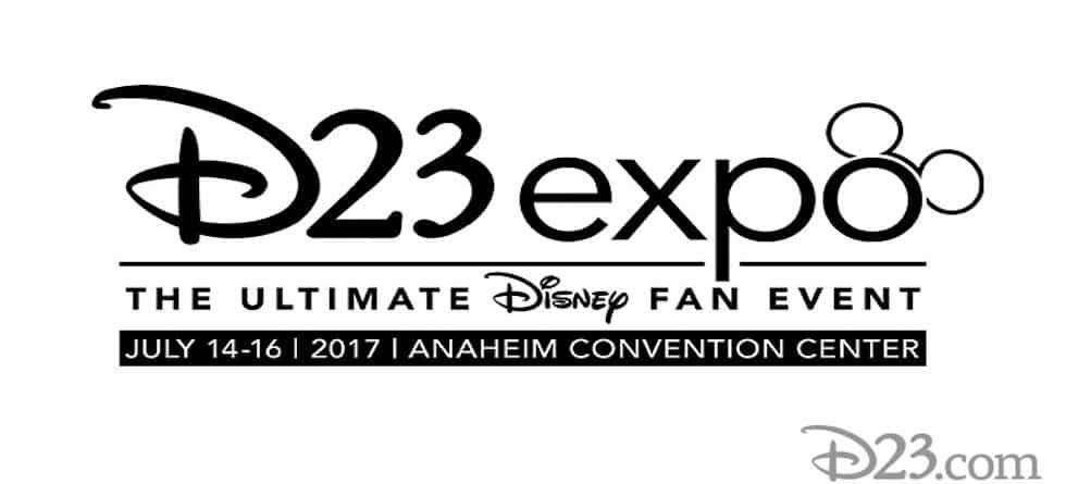 D23 announces presentation lineup for D23 Expo 2017 at Anaheim Convention Center