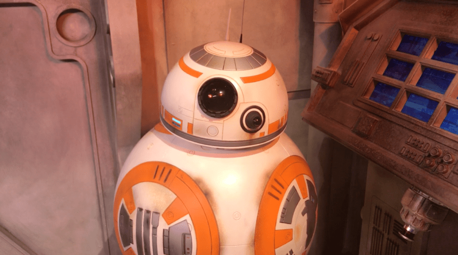 BB-8 Star Wars meet and greet