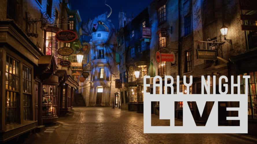 Early Night Live Diagon Alley